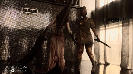 Cosplay Grupal de Silent Hill (Pyramid Heat y Nurse)