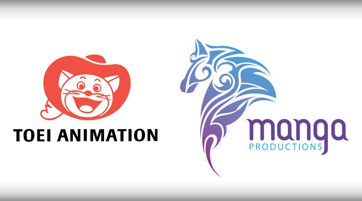 Toei Animation y Manga Productions