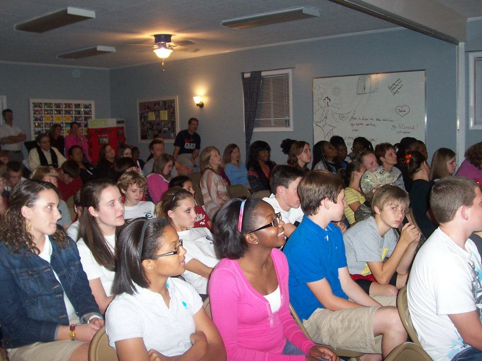 Youth Rally at First Baptist Church