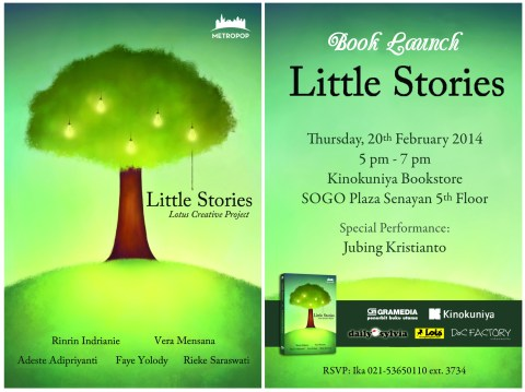 undangan little stories digital