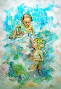 Eros en Himeros  mythologie