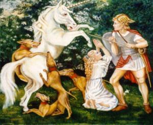 Drieluik De Eenhoorn, De strijd 3