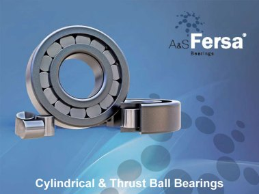 Fersa Cylindrical & Thrust Ball Bearings