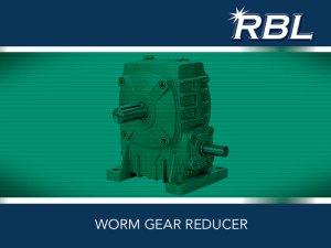 RBL Worm Gear Reducers