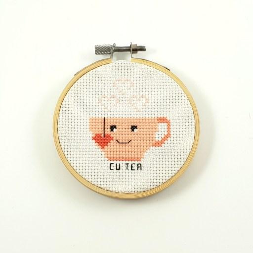 Cu tea cross stitch pdf pattern