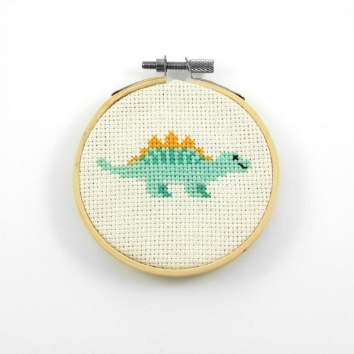 stegosaurus cross stitch pdf pattern