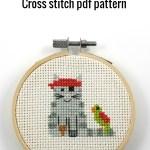 Halloween pirate cat pfd pattern