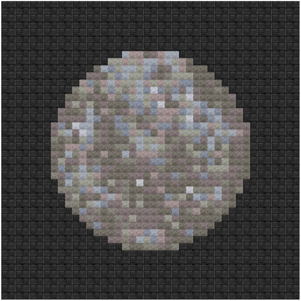 Mercury cross stitch pattern