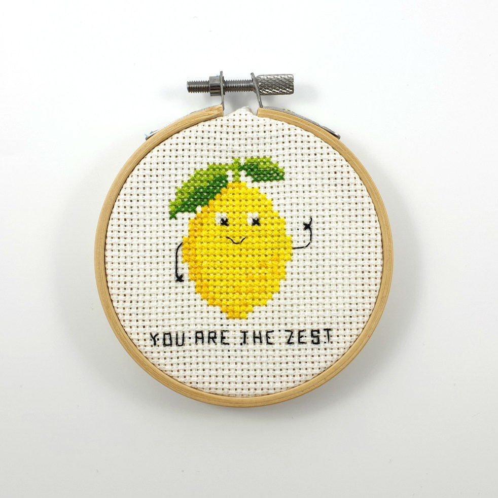 You are the zest cross stitch pdf pattern