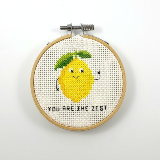 You are the zest cross stitch pdf pattern