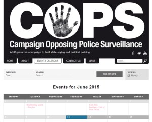 Campaign Opposing Police Surveillance