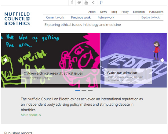 Nuffield Bioethics