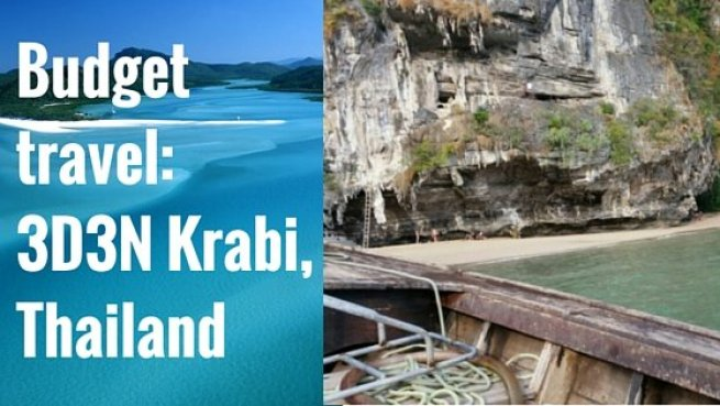 krabi budget travel