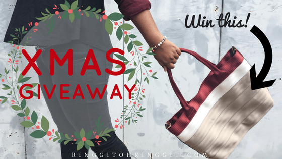 [XMAS GIVEAWAY] Exclusive Bag from Biji-Biji Design (Ends 25 Dec 2016)