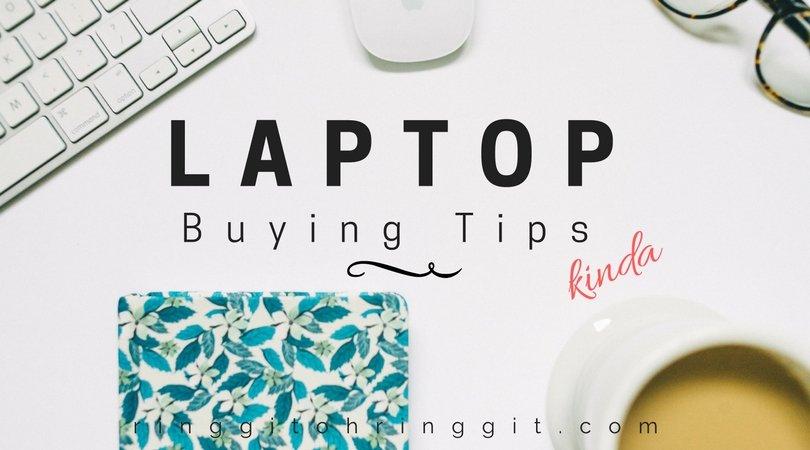 buy new laptop