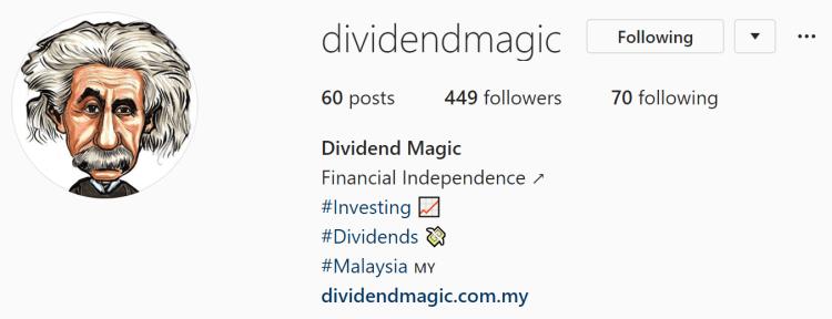 personal finance instagram malaysia