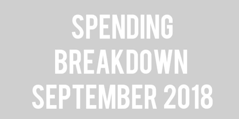 Budget Update: September 2018