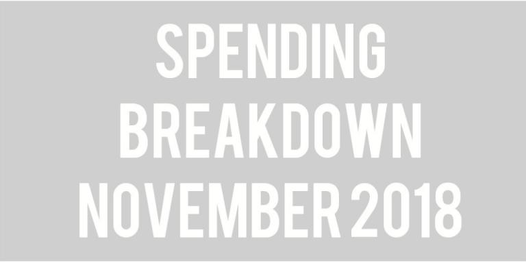 Budget Update: November 2018