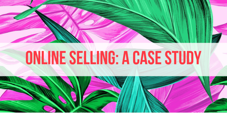 Selling Online in Malaysia: My Book Sold Well So Here's A Case Study