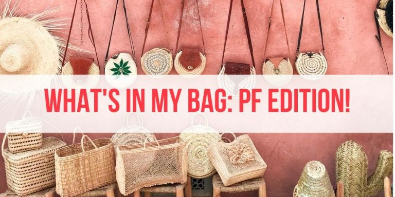 What's In My Bag: Malaysia Personal Finance Content Creators Edition!