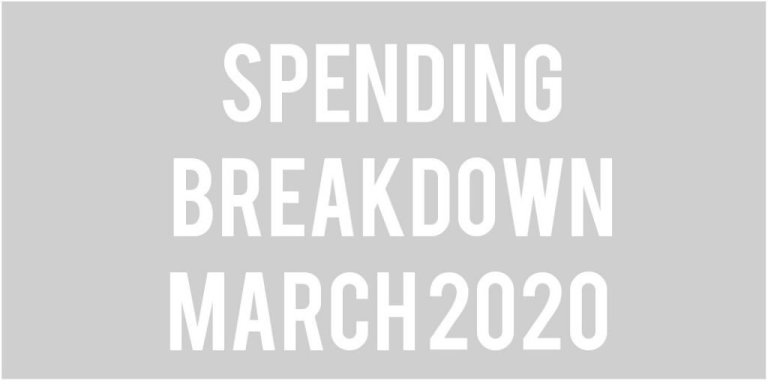 Budget Update: March 2020