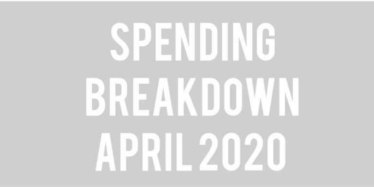 Budget Update: April 2020