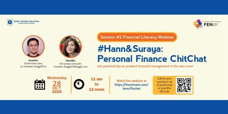 Answering All 45 Questions from #Hann&Suraya: Personal Finance ChitChat (BNM/FEN Collab)