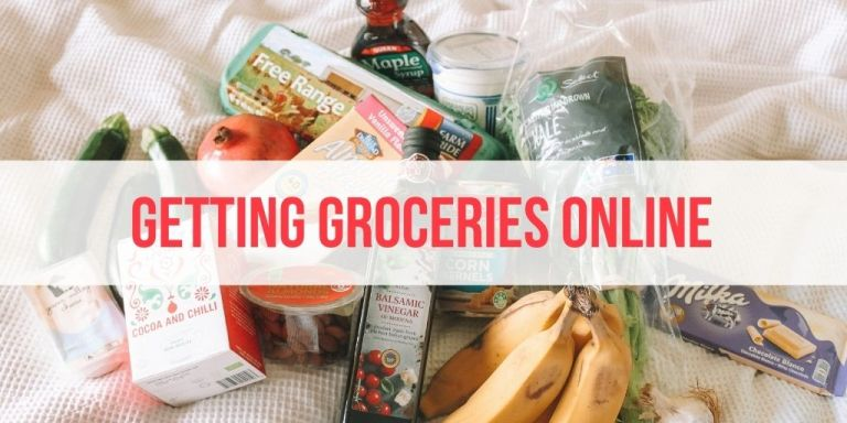Online Shopping for Groceries: 5 Places to Get What You Need