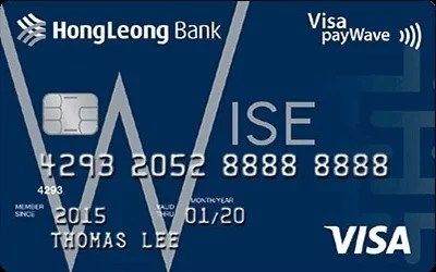 Hong Leong Wise Gold credit card