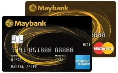 Maybank 2 Gold Cards credit card