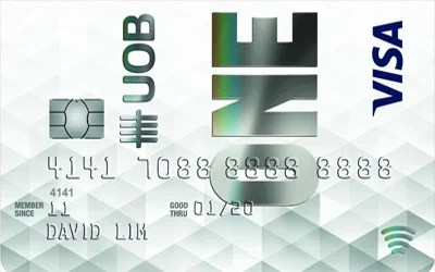 UOB One Visa Classic credit card
