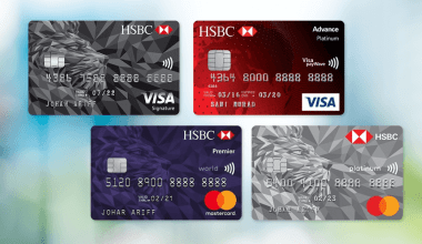 HSBC rewards redemption credit cards