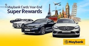 maybank cards year end super rewards