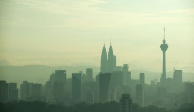 Cloudy Kuala Lumpur