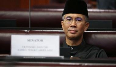 finance minister tengku dato sri zafrul