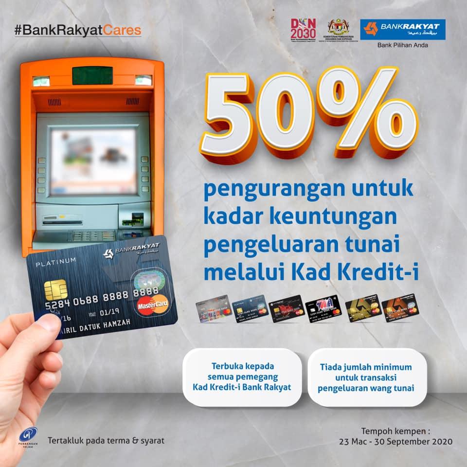 Cash Advance Kad Kredit Bank Rakyat