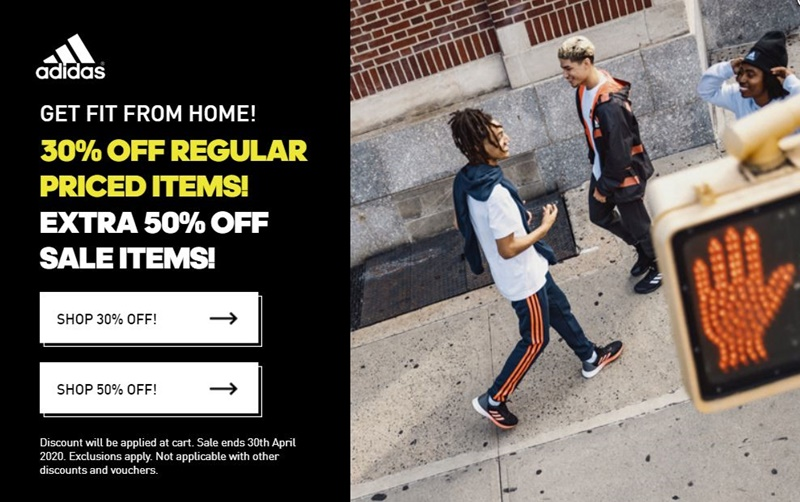 Adidas Offers 50% Discount On Already