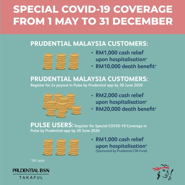 prudential special covid-19 coverage 3