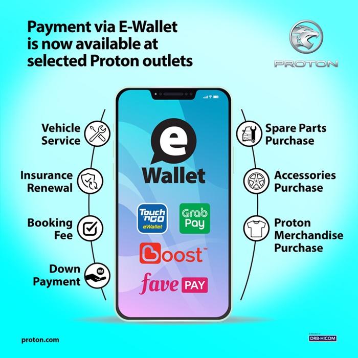 proton e-wallet payments