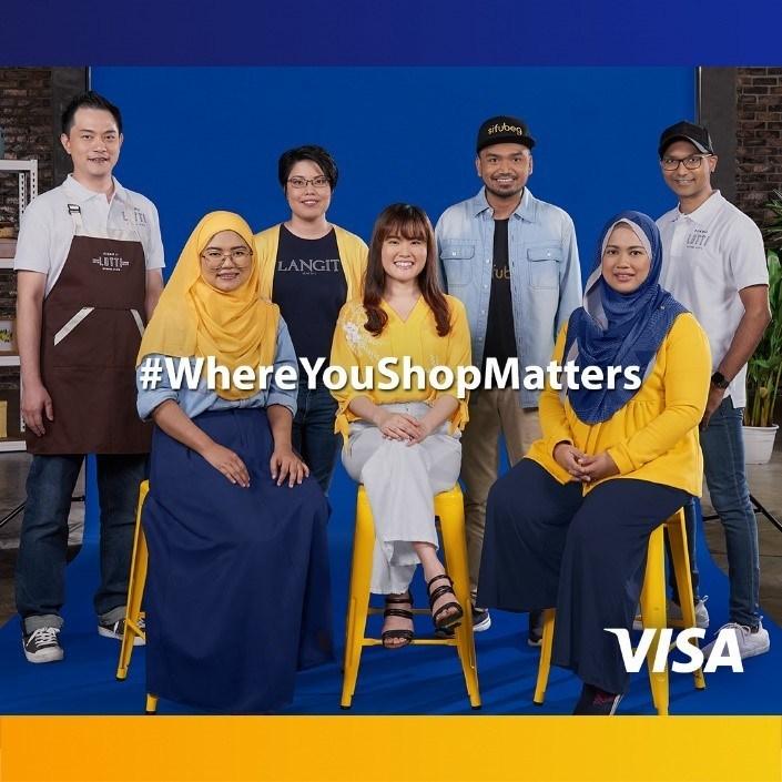 visa where you shop matters campaign 1