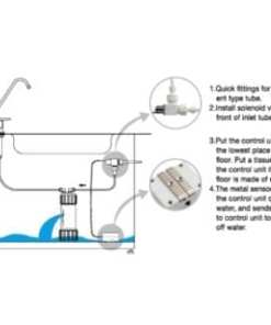 Savant 9V DC Water Cut Off Leak Controller