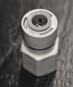 "Tiger Tap Adapter 3/8"" tube x 7/16"" NPT Female"