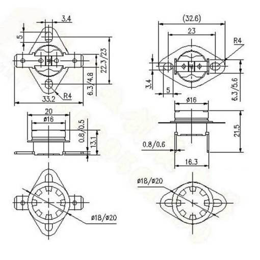 Oven-170c-Cut-Out-Switch-measurements