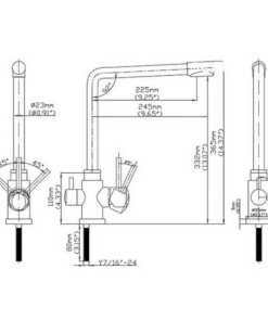 stainless-steel-3-way-mixer-tap-measurements
