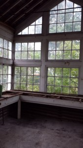 Greenhouse in Charles Ringling Estate in Baraboo, WI
