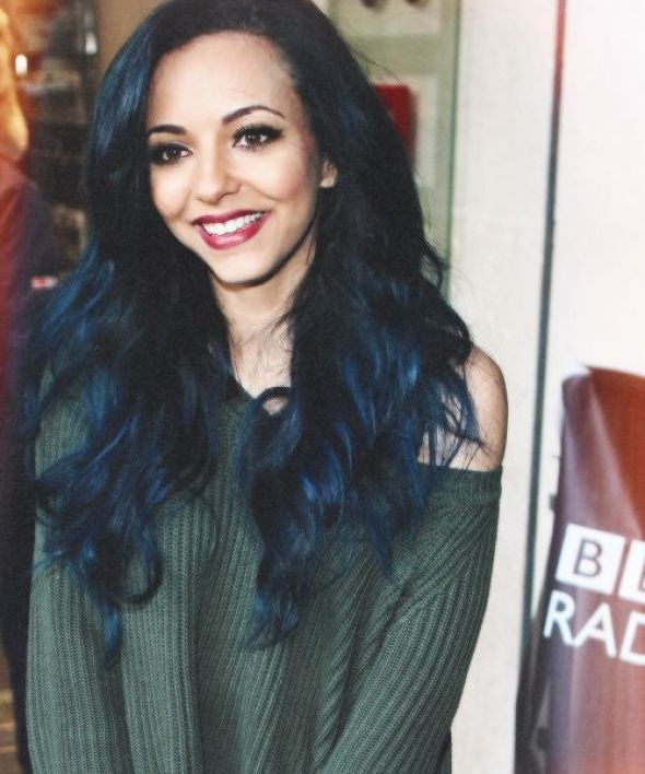 JADE IS FLAWLESS AND ITS OK IF YOU THINK SHES NOT BUT YOURE WRONG AND WOW I LOVE HER HAIR: