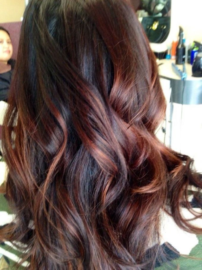 Chocolate brown hair with red and caramel highlights hairsstyles 60 brilliant brown hair with red highlights pmusecretfo Gallery
