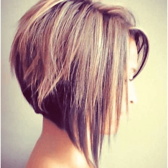 A-Line Cut Hairstyle For Women