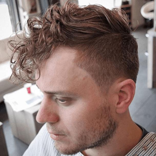 Long Wavy Undercut Hairstyles