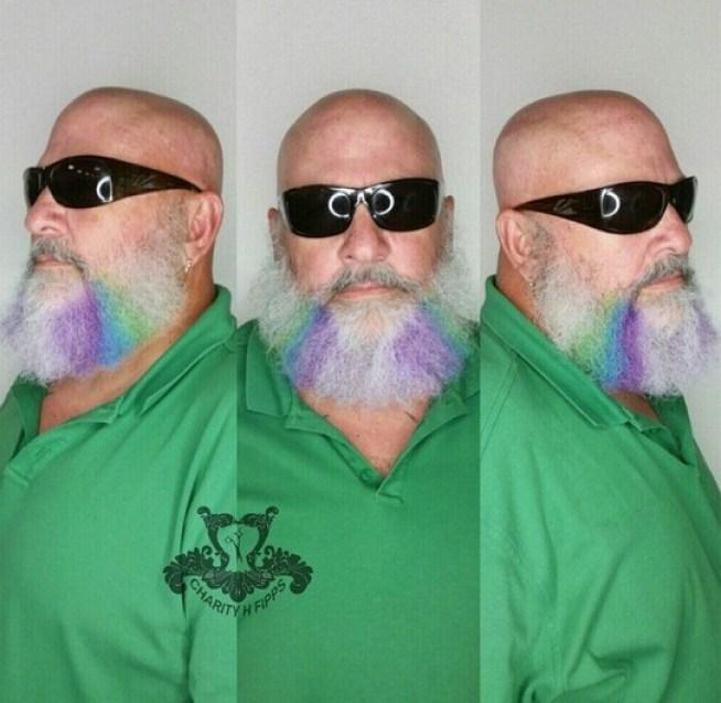 Coloring or Highlighting Beard
